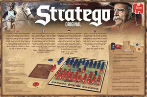 Jumbo Stratego 19496 Original Game, Multi