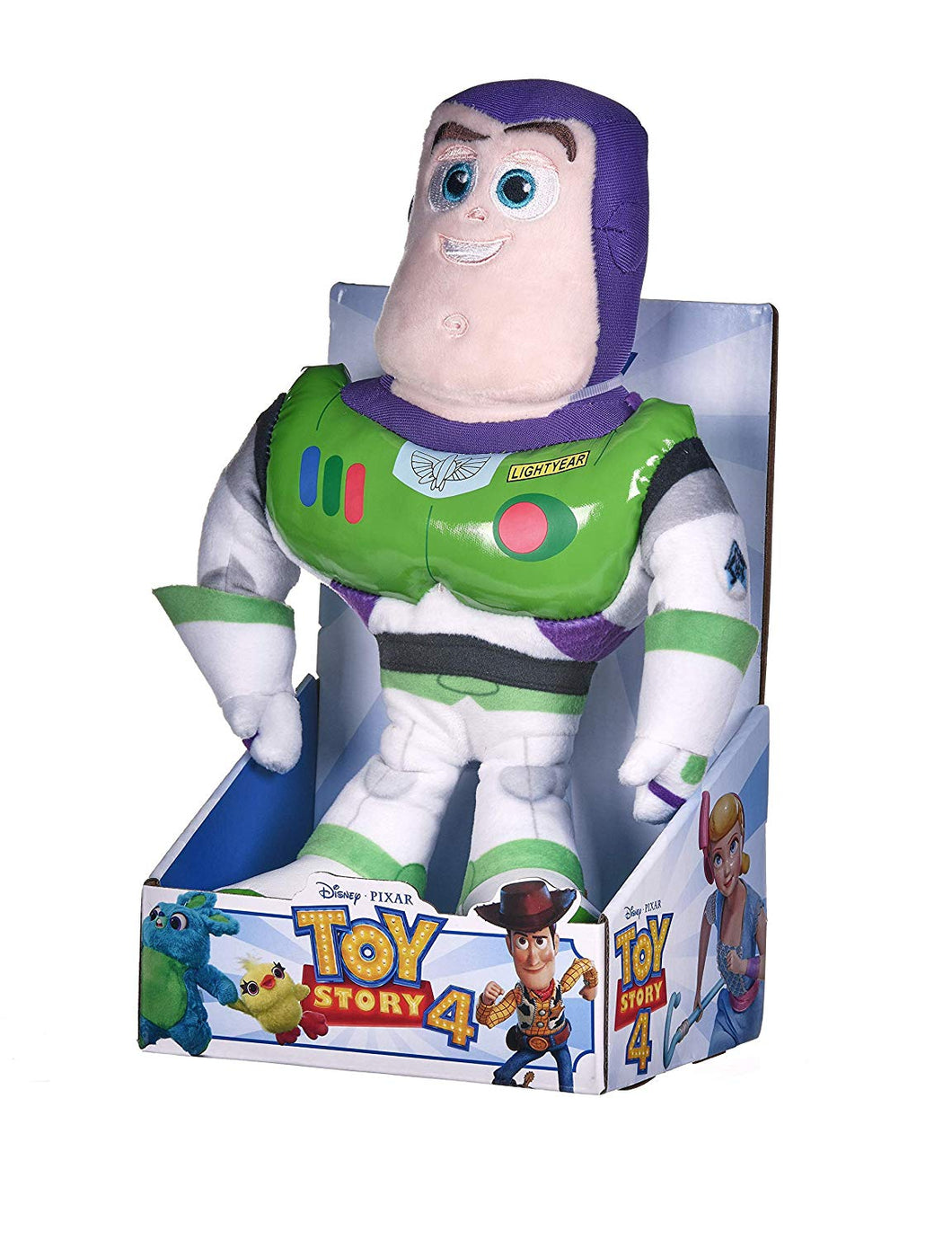 Disney Pixar Toy Story 4 Buzz Lightyear Soft Doll in Gift Box