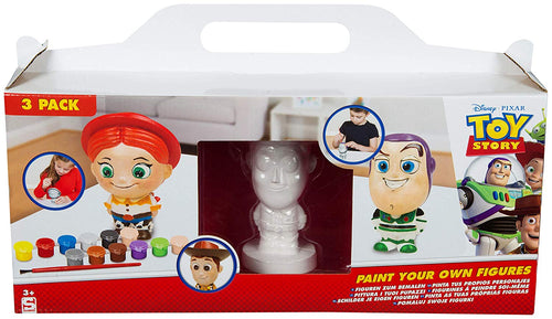 Sambro Toy Story Paint Your own Figures, Featuring Jessie Woody and Buzz