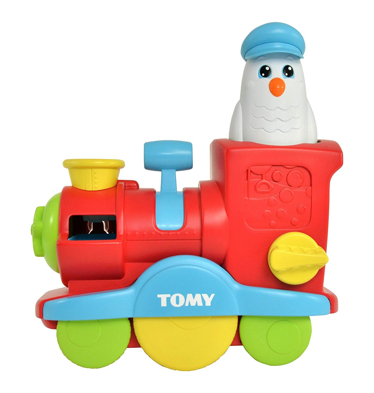 TOMY Toomies Bubble Blast Train - Bubble Bath Toy - Suitable From 18 Months