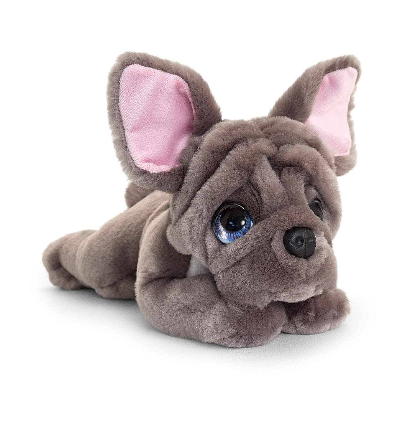 Keel Toys SD2540  Soft Toy Signature Cuddle Puppy French Bulldog 37cm