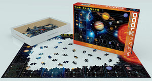 1009 EuroGraphics the Planets Puzzle 1000 Pieces