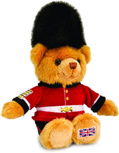 Keel Toys SL4143 Guardsman Bear Soft Toy London Souvenir