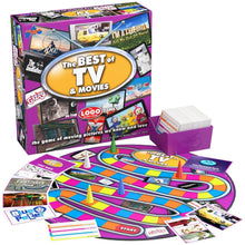 Drumond Park Logo Best of TV and Movies Board Game