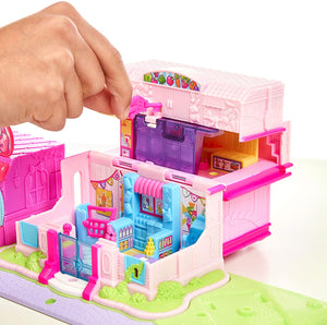 Box Damaged - Shopkins Lil' Secrets Shop Keypers Multi Shop Playset