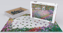 Eurographics  4908 Monet's Garden 1000 Piece Jigsaw