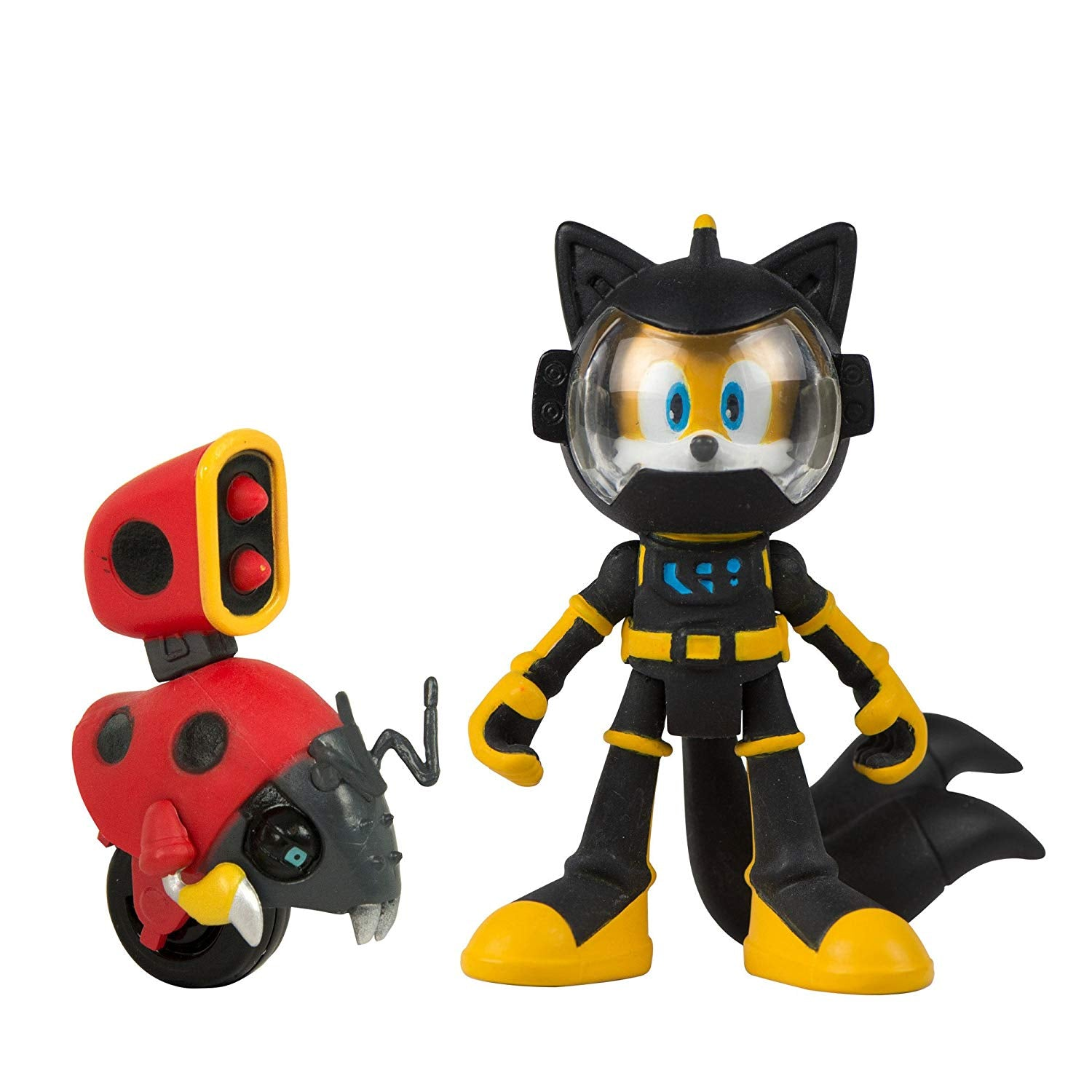 Sonic Boom - Tails and Moto Bug 3 Inch Articulated Figures 2 Pack