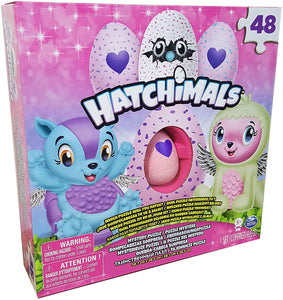 HATCHIMALS CollEGGtibles Mystery Puzzle + Exclusive Figure Great Stocking Filler