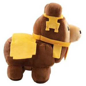 J!NX 8732 Jinx Minecraft Happy Explorer Plush Figure Baby Llama Brown 16 cm