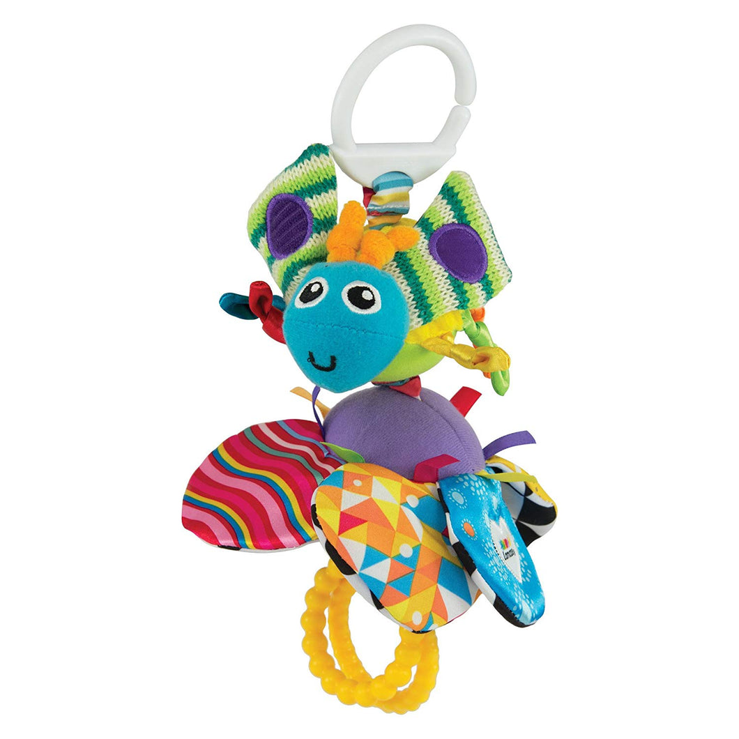 Lamaze Flutterbug - Clip On Pram and Pushchair Newborn Baby Toy Butterfly - Suitable from Birth