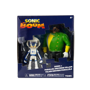 TOMY T22043 Boom 2 Figure Pack, Spacesuit Sonic and Eggman
