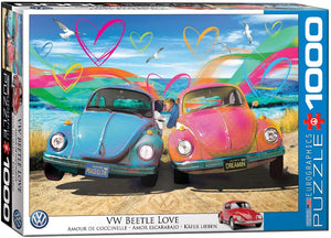 EuroGraphics VW Beetle Love - 1000 Piece Jigsaw Puzzle