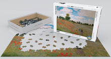 EuroGraphics 6000-0826 Monet Poppy Field Jigsaw Puzzle, Multi