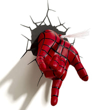 3D Light FX 816733002217 Marvel Spiderman Hand 3D Deco LED Wall Light