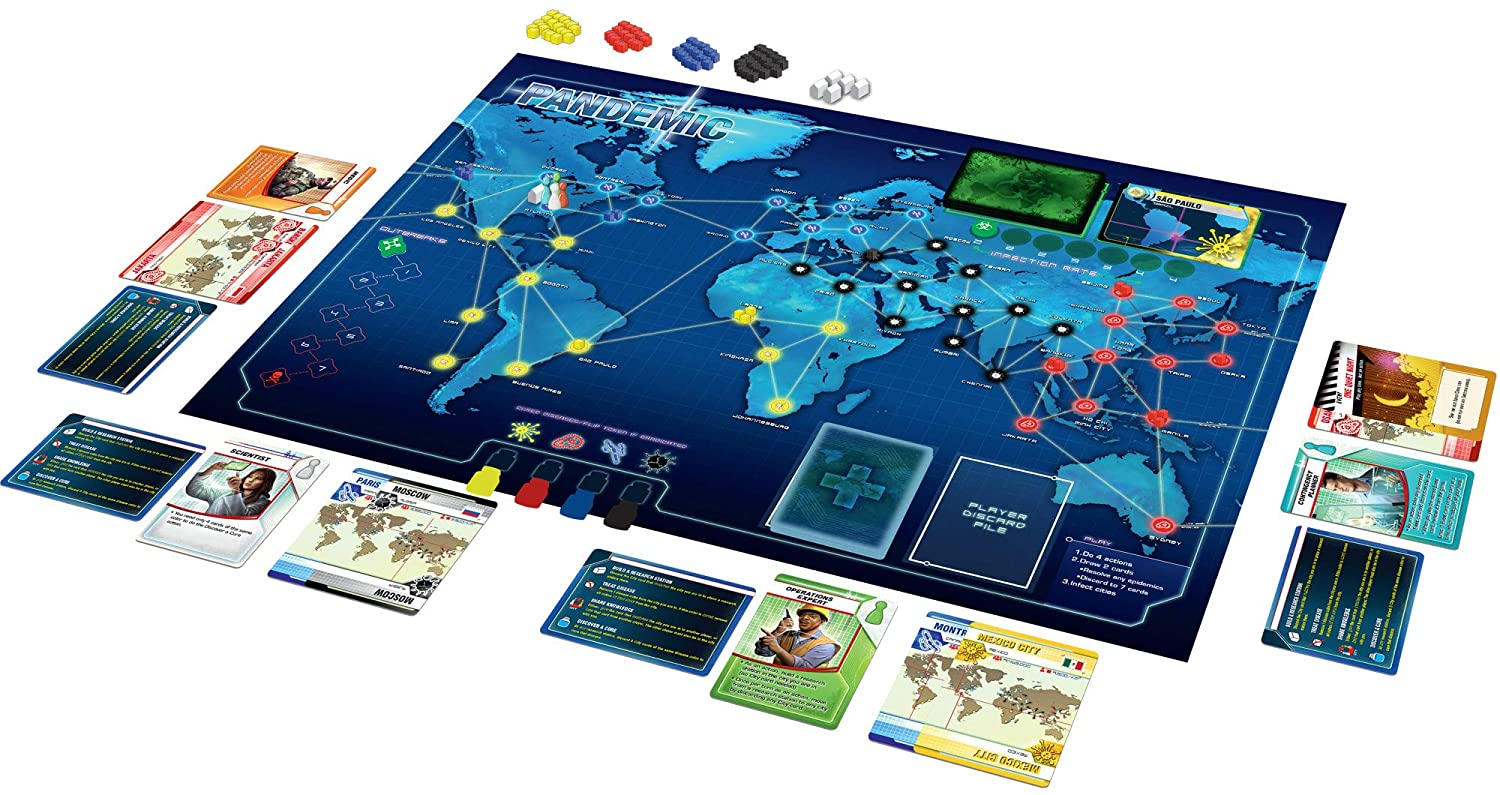 Pandemic Board Game Z-Man Games - ZMG71100
