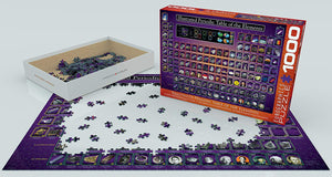 EuroGraphics Illustrated Periodic Table of the Elements Puzzle (1000 Pieces)