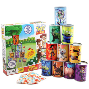 Toy Story 4 Tin Can Alley Game - Sambro