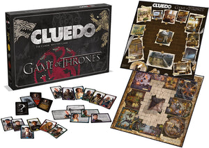 Winning Moves Game of Thrones Cluedo Mystery Board Game