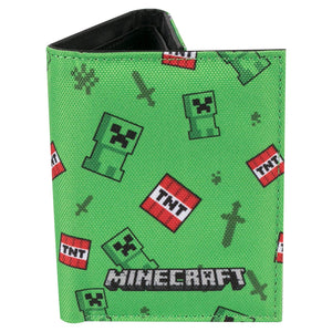 Minecraft Creeper Sprite Wallet Multi Colour JX8311