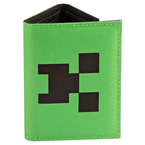 Minecraft Creeper Tri-Fold Wallet