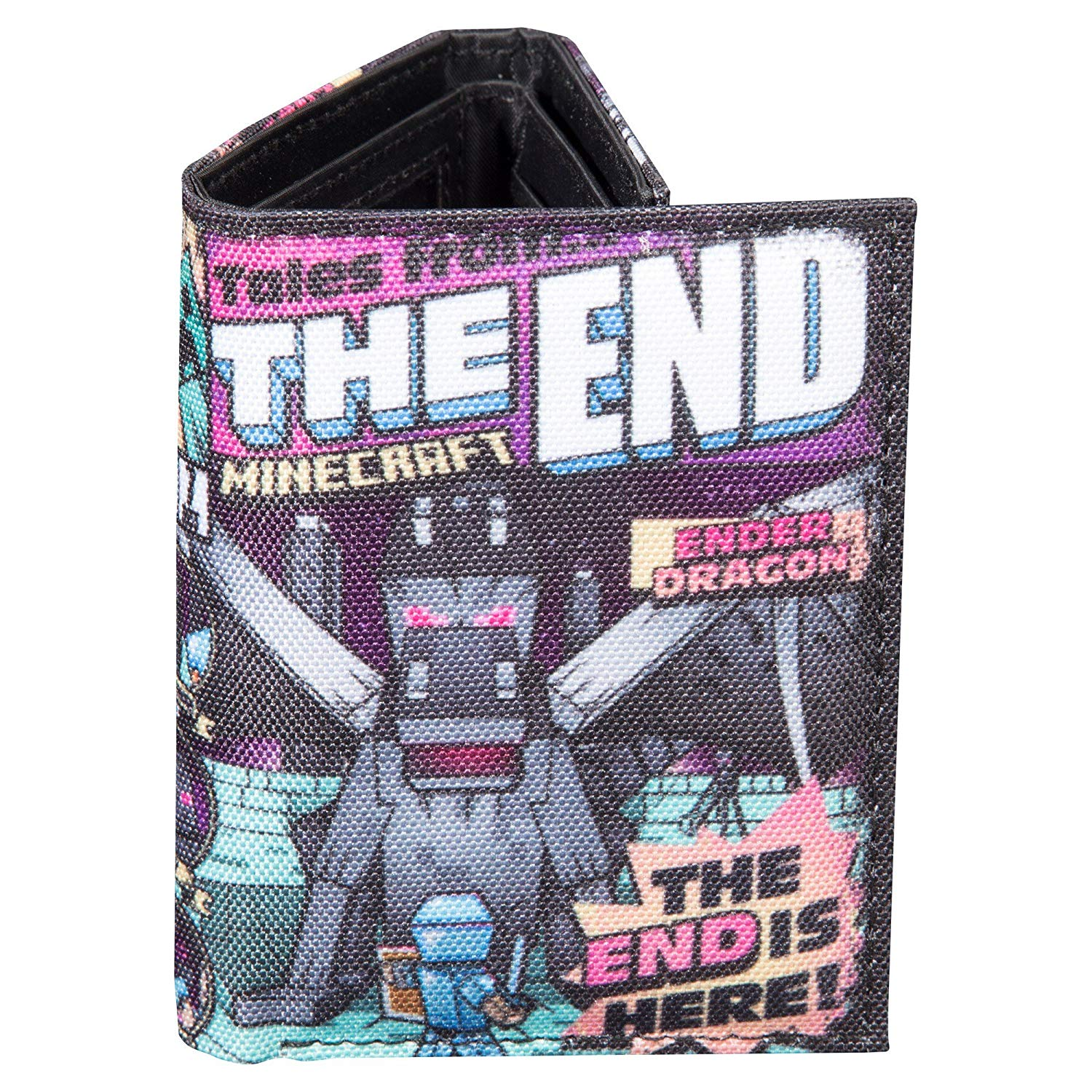 JINX Wallet - Minecraft - Tales From The End Tri-Fold j7759
