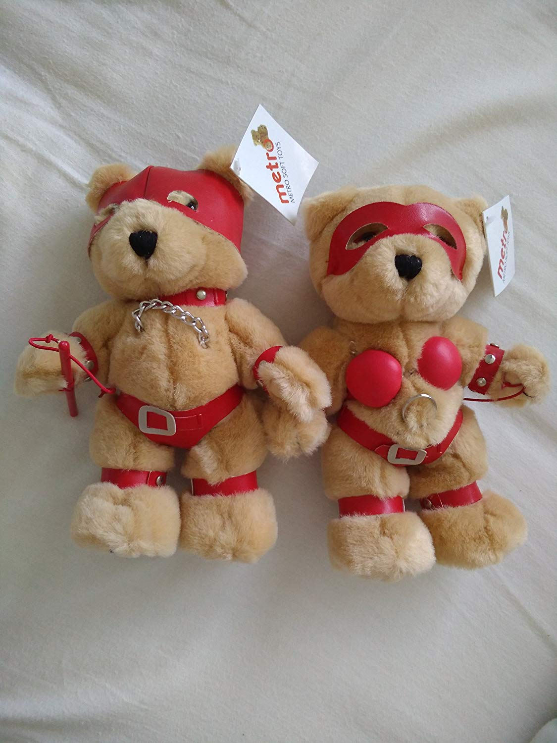 Bondage Bear Soft Toy Valentine Naughty Funny Gift