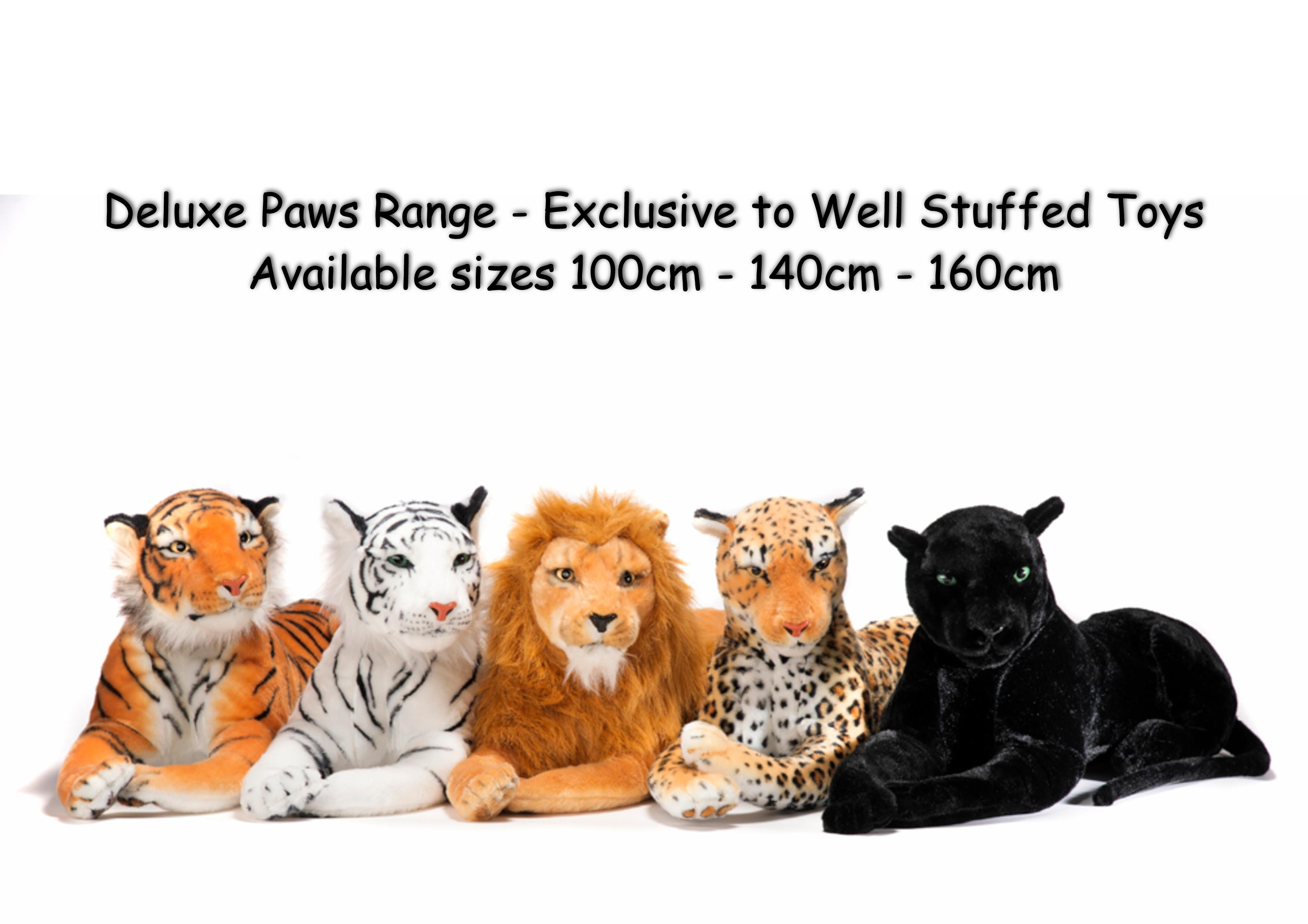 Deluxe Paws Extra Large Giant Lion Soft Toy 150cm 59""