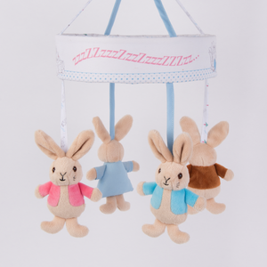 Box damaged - Peter Rabbit Musical Cot Mobile PO1242