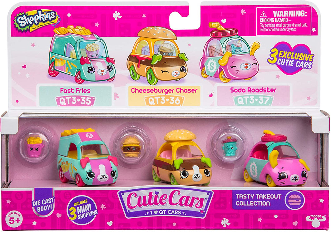 Shopkins 3 Pack Tasty Takeout 57139 S3