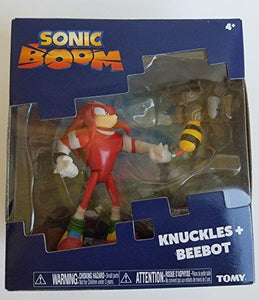 "Sonic T22502 Tomy Boom Knuckles and Beebot 3"" figure Set"