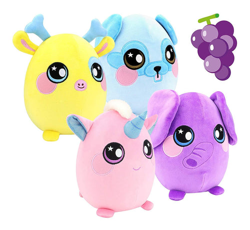 Squeezamals Large Soft, Squshie, Sweet Scented Plush Animal Toy