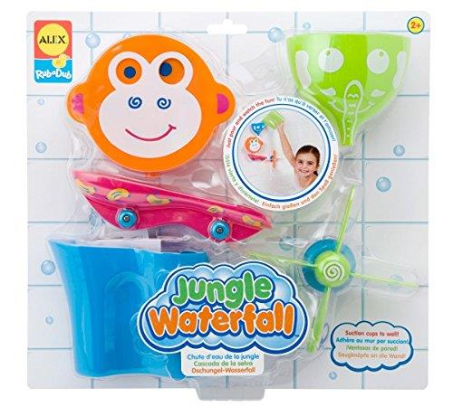 Alex Toys Jungle Waterfall bath shower toy kids children