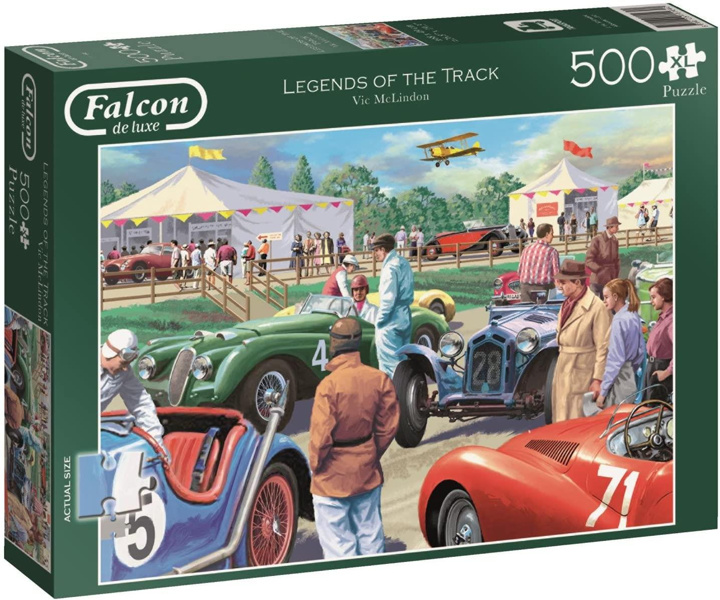 Falcon de luxe 11164- Legends of The Track - 500 XL Piece Jigsaw Puzzle