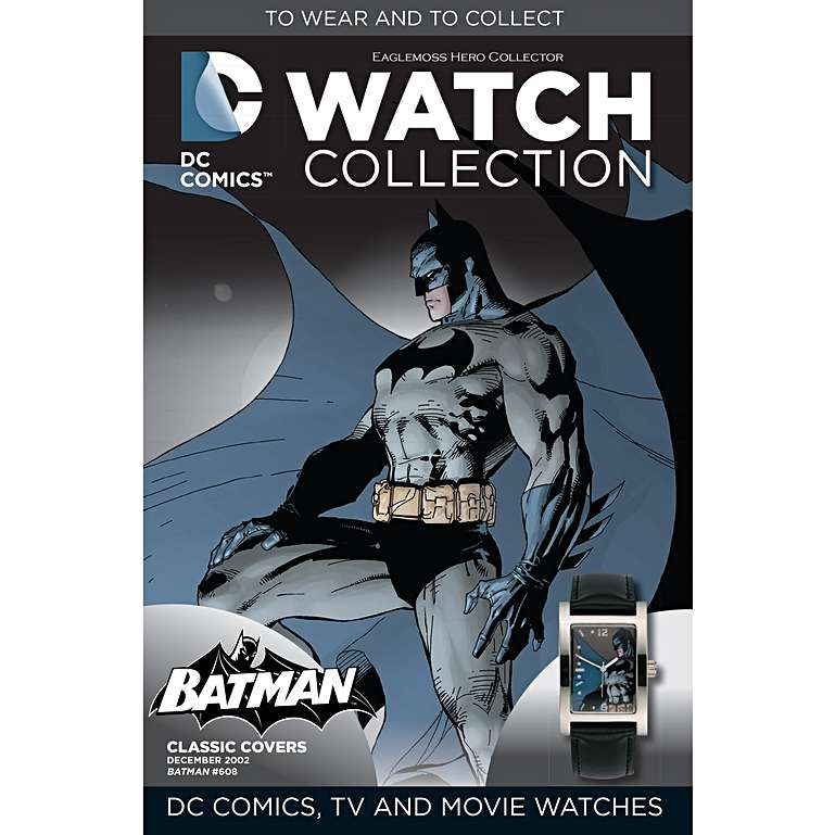 MISSING COMIC - Eaglemoss Hero Watch Collection BATMAN DC COMICS