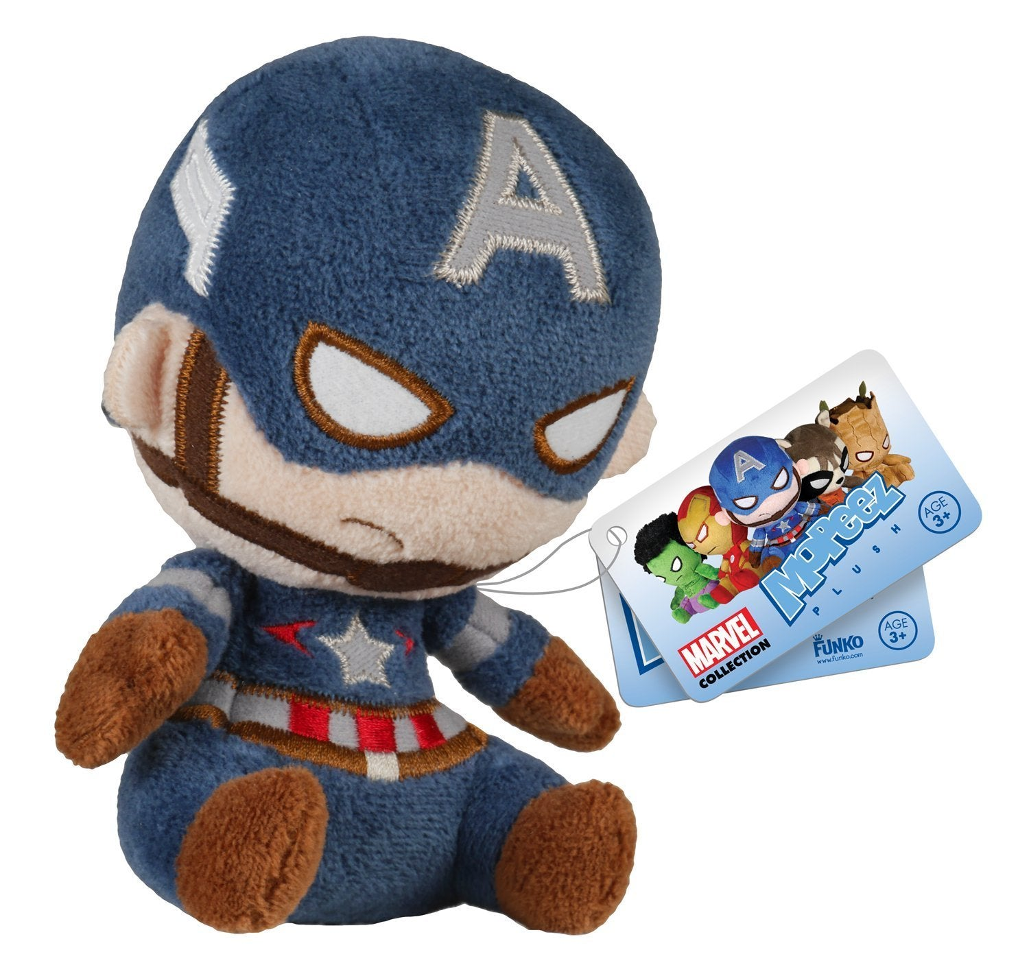 Mopeez Avengers Marvel Plush Full Set - Hulk Cap America Iron Man Rocket Groot