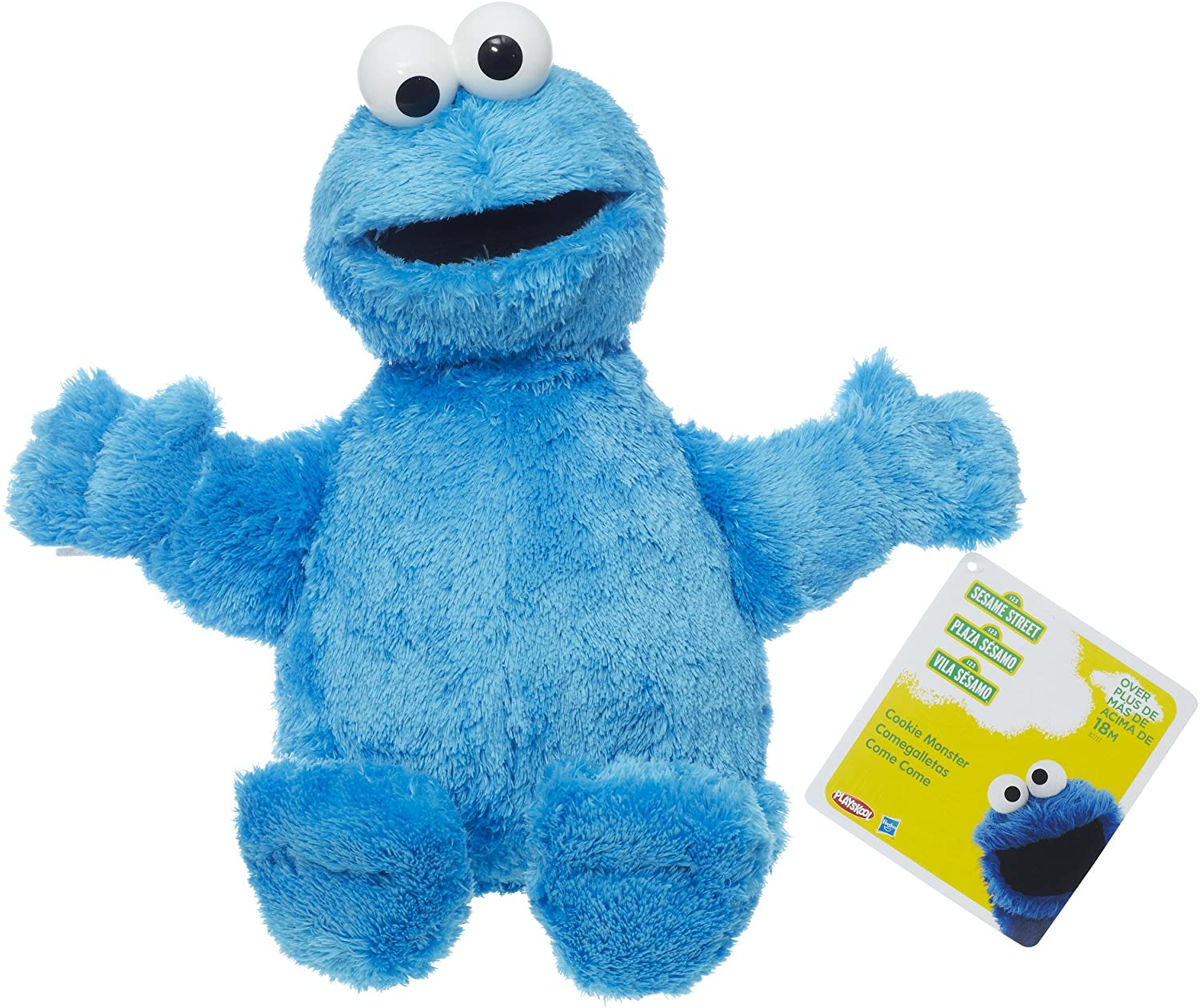 Sesame Street Cookie Monster Jumbo Plush