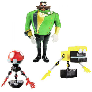 CUBOT Sonic Boom Diorama 3 Figure Set, Orbot and Parallel Universe Villain