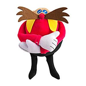TOMY Sonic Modern Collector Plush Dr. Eggman