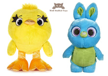 Posh Paws 37306AG Disney Pixar Story 4 Bunny and Ducky Set 10 Inch Soft Toy