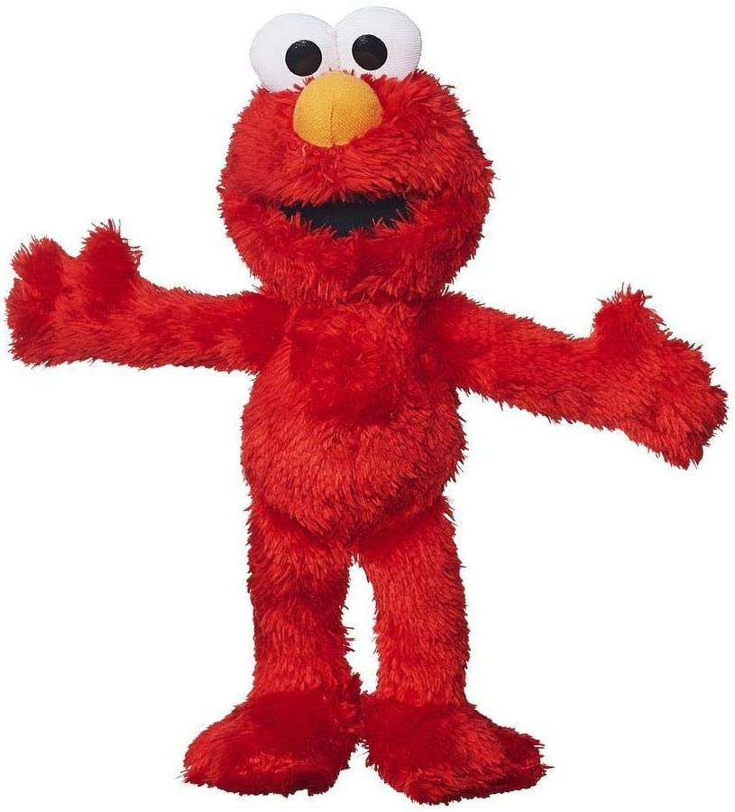 MISSING SHOP TAGS - Micro Plush Pal Elmo Figure
