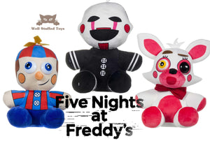 Damaged - OFFICIAL Five Nights at Freddy's FNAF Plush Balloon Boy