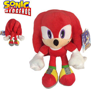 "Official Sonic 12"" Plush Toys - Tails Knuckles Shadow"
