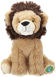 "Your Planet 9"" Eco Plush Teddy Bear Lion, Wildlife Soft Toys