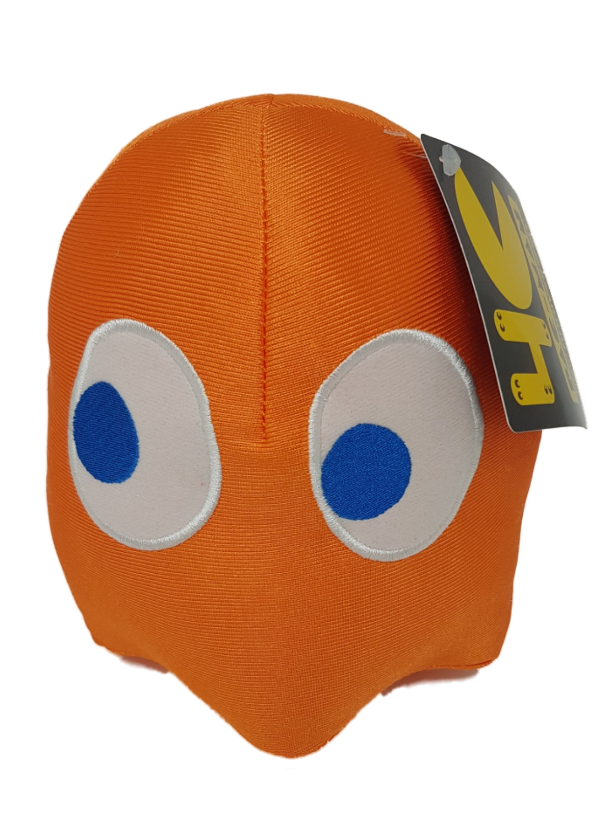 Official Pac-Man 40th Collector Plush Toy Ghost - Blue Orange Pink Red 7""