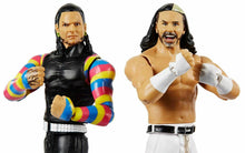 WWE The Hardy Boys Wrestling Battle Twin Pack Action Figures