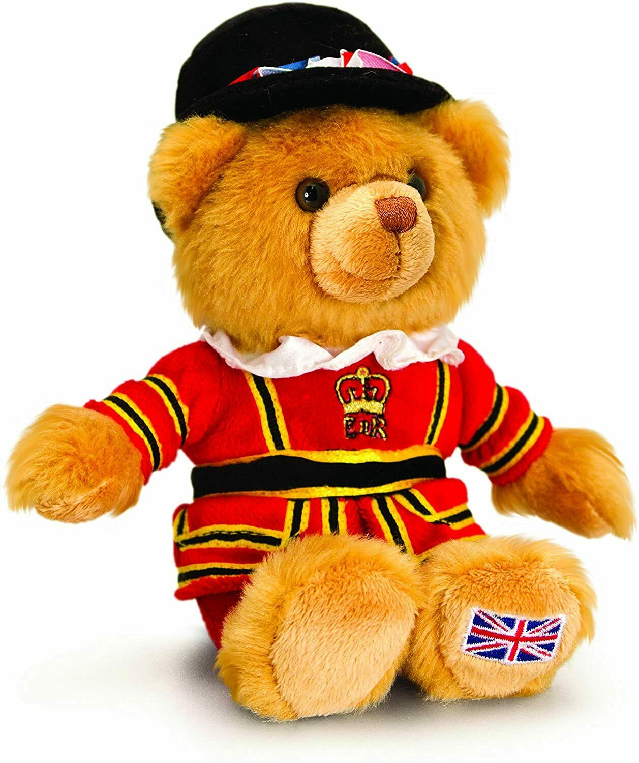 Keel Toys 15 cm London Beefeater Bear Tower of London Souvenir