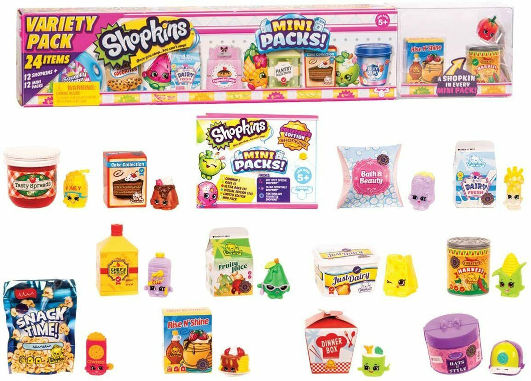 Shopkins HPKD7000 Mini Mega Pack Assortment (Variety Pack Picked at Random)