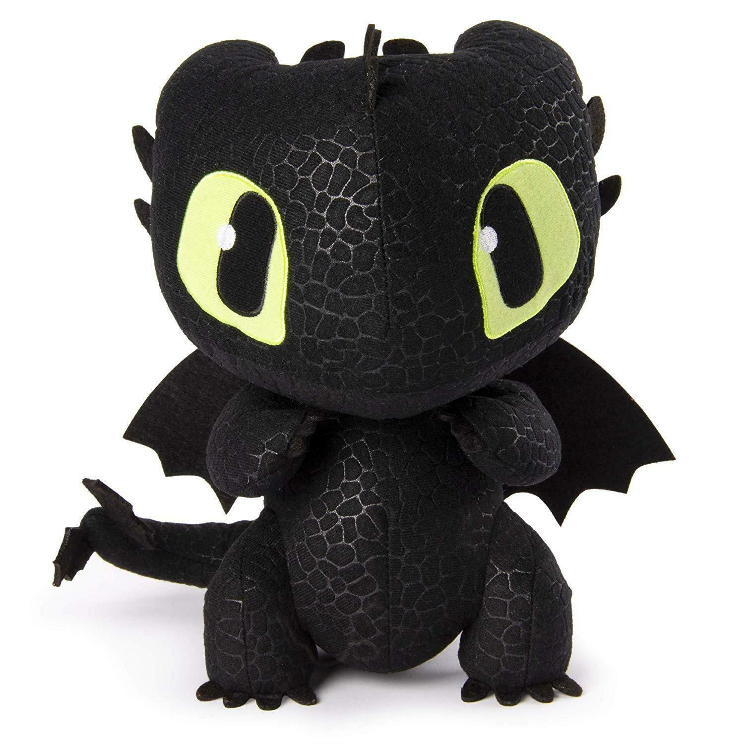 Dragons 6046841 DreamWorks Squeeze and Growl Toothless Plush with Sounds