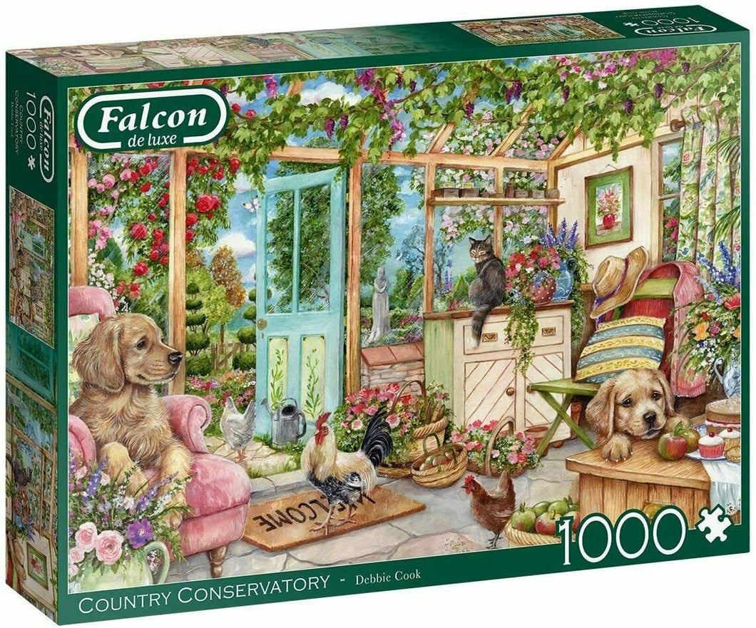 Falcon Deluxe Conservatory Window Jigsaw Puzzle (1000 Pieces)