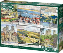 Jumbo Falcon De Luxe The Beautiful North Scenic Jigsaw Puzzle 1000 Pieces 11303